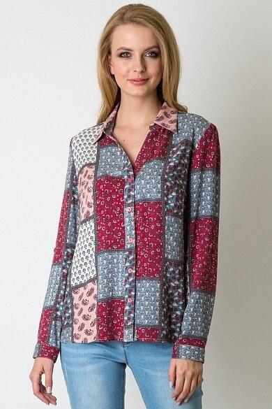 Blouses and Shirts VISAVIS L3652 women winter Cotton
