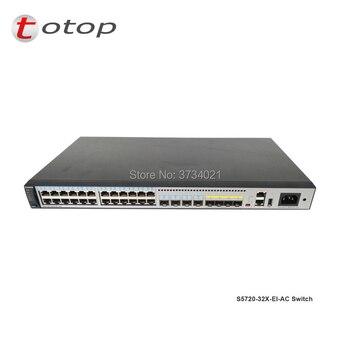 1pcs S5720 series Hua wei switch S5720-32X-EI-DC with 24 port sfp S5720 32X EI AC S5720-32X-EI-AC change to DC фото