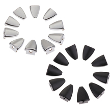 10 Pieces Iron Triangle Shape Drum Claw Hook for Bass Snare Parts Accessories Drums