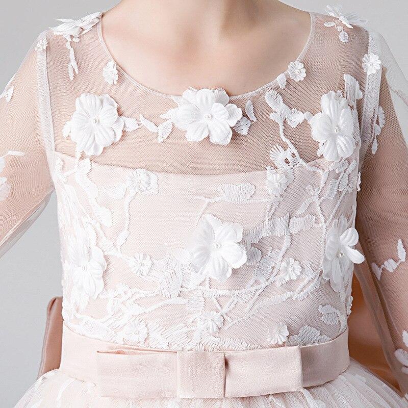 Boutique fille robe de princesse modérateur robe de soirée Piano Costume filles robe de fête de noël élégant enfants robes pour les filles - 4