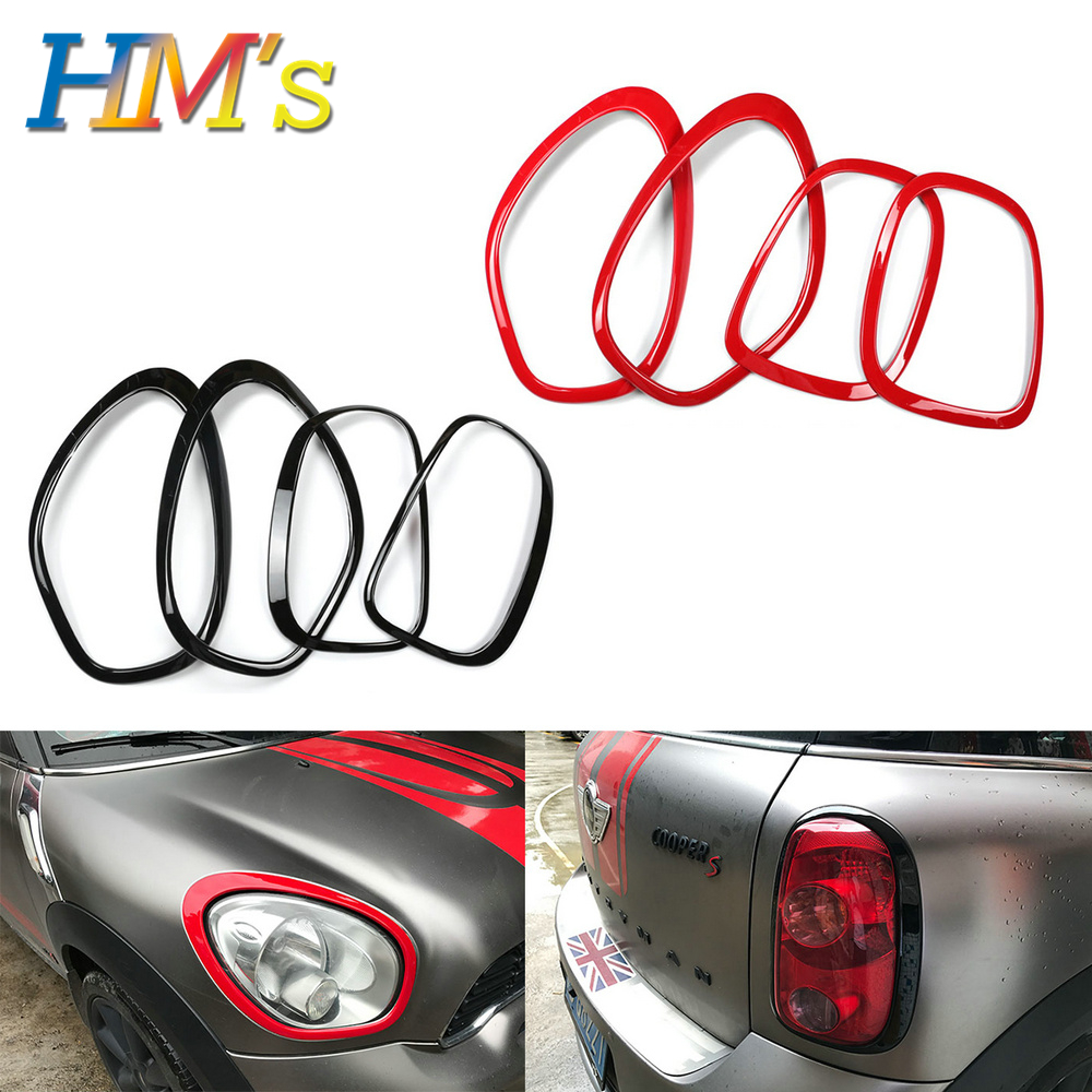 For MINI Cooper Countryman R60 Headlight Front Head Rear Tail Lamp Light Sticker Ring For MINI