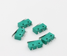 цена на 10pcs/lot DONGHAI 3d printer accessories 5A 250VAC T120 CE KW4-3Z-3 straight handle micro switch limit switch