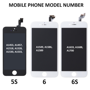 Image 5 - AAA مجموعة كاملة الجمعية شاشة الكريستال السائل ل فون 5S 6 6S زائد 6P 6SP محول الأرقام بشاشة تعمل بلمس كاملة استبدال مع كاميرا أمامية