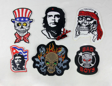 che guevara Heroes and Devils badge Clothes Embroidery Patch Cloth Sticking Decoration Repair Holes DIY