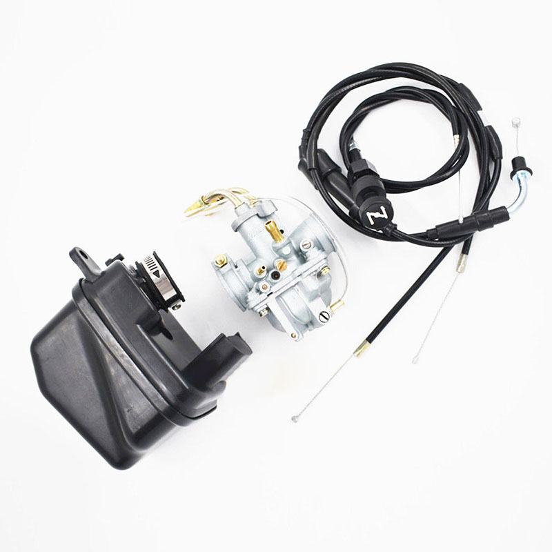 23mm Plug Carburetor Air Filter Choke Cable & 21mm Throttle Choke Cable suitable For Yamaha Y Zinger Pw 50 Pw50 Uk