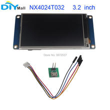 Nextion 3.2 TFT 400x240 NX4024T032 HMI Resistive Touch Screen UART Smart Display Module for Arduino Raspberry Pi ESP8266 nextion 4 3 tft 480x272 nx4827t043 hmi resistive touch screen uart smart display module for arduino raspberry pi esp8266