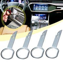 2 шт. 4 шт. полезный практичный инструмент для снятия радиоприемника и установки ключей для VW, Audi, Ford, Porsche
