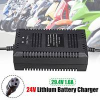 29.4V 1.6A electric bike lithium battery charger for 24V lithium battery pack electric bicycle scooter 24V charager new arrival|Chargers|Consumer Electronics -