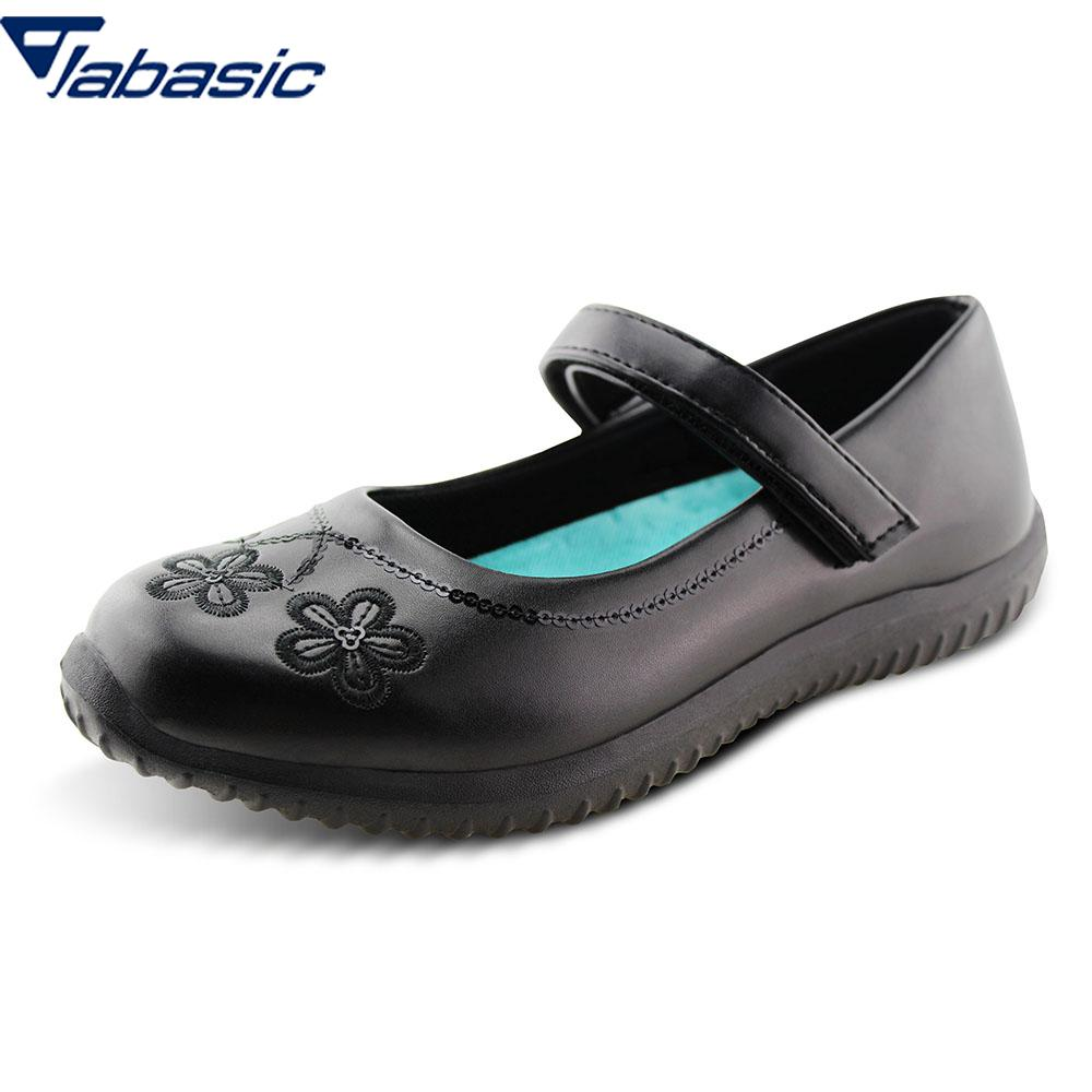 JABASIC  School Shoes For Girls 2019 Summer Soft Leather Princess Party Girls Shoes Casual Breathable Hook Loop Dress ShoesJABASIC  School Shoes For Girls 2019 Summer Soft Leather Princess Party Girls Shoes Casual Breathable Hook Loop Dress Shoes