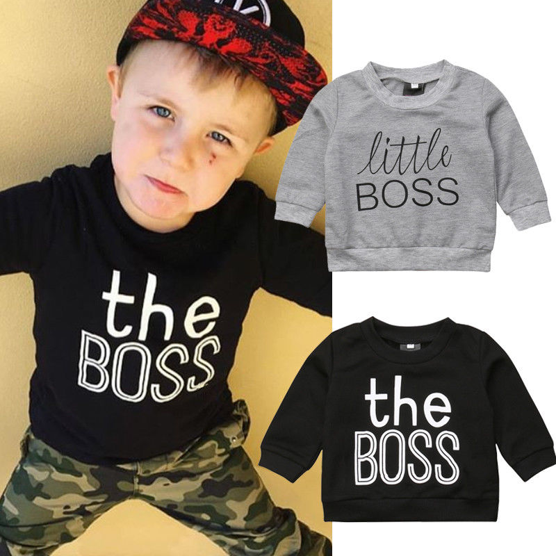 Pudcoco Boy Hoodies T-Shirt Newborn Toddler Baby-Boys-Girls Cotton 0-5Y Tops