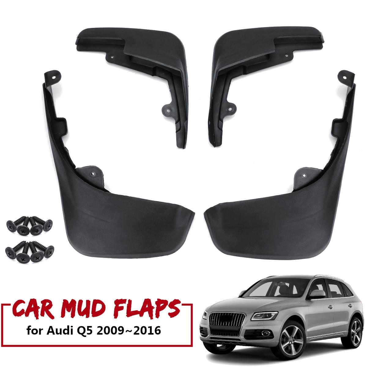 Mud Flaps For Audi Q5 2009~2016 2012 Mudflaps Splash Guards Mudguards Front Rear