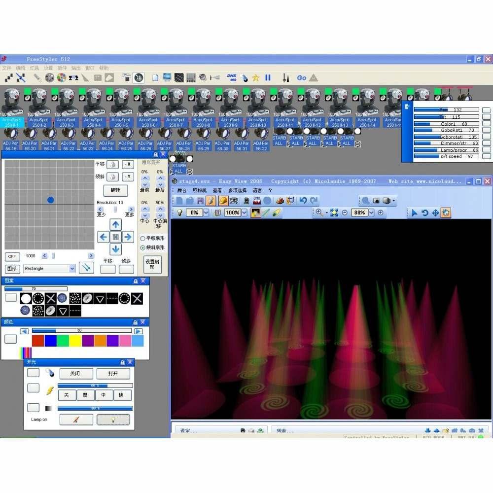 Hot Koop 512 Kanaals USB Dmx Dmx512 Led Licht Dmx Podium Verlichting Controller Freestyler 3D - 5