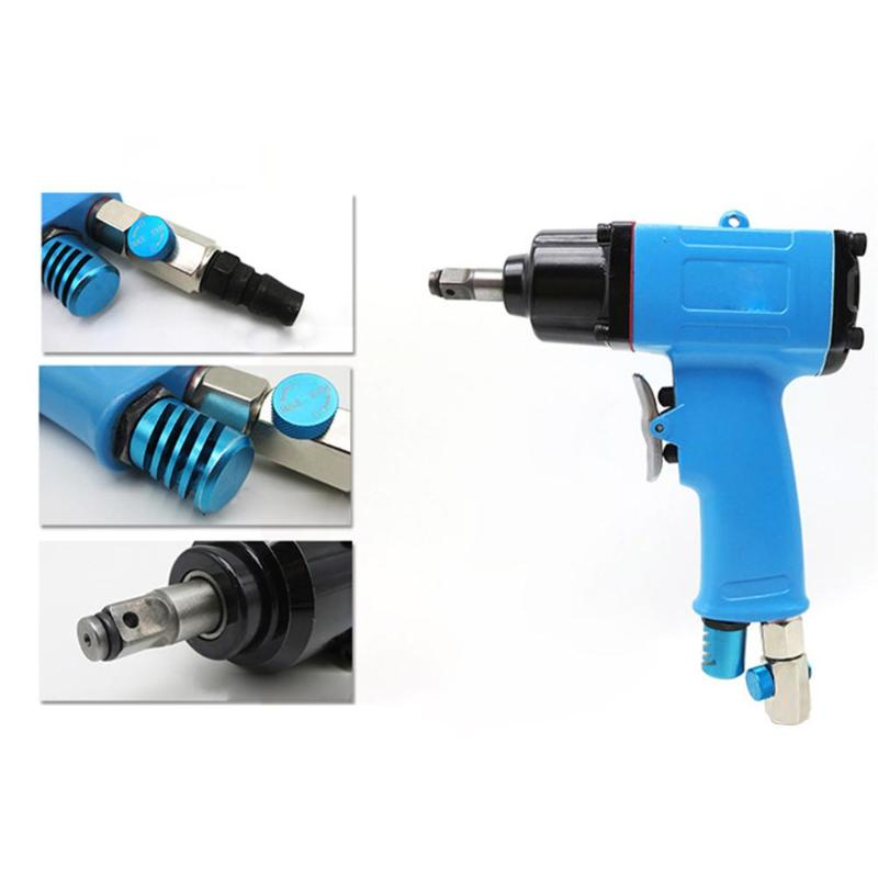 Drive Air Gun Wrench Kit 3/8 Wrench Pneumatic Impact Gun Wrench Tyre Tool Hammer Gun Air Tool 10HPS pneumatic wrench pneumatic impact wrench 1 2 pneumatic gun air pressure wrench tool torque 450ft lb
