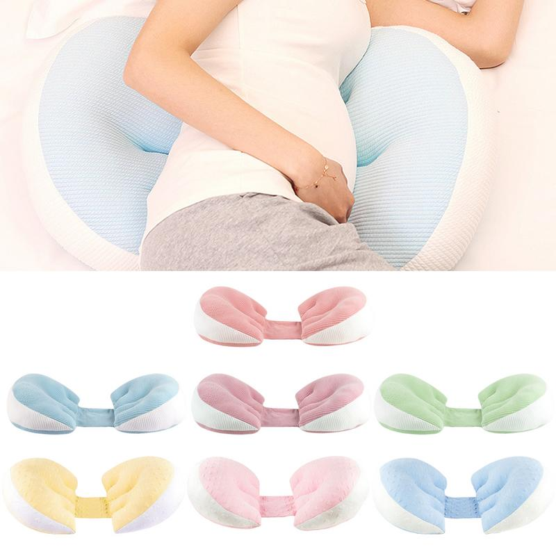 Pregnant Women Pillow Waist Side Sleep Pillow Stomach Lift U-shaped Pillow Multi-function Pillows Pregnancy Side Sleeper