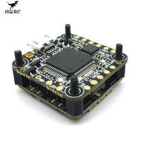 News HGLRC XJB F413 for Omnibus F4 Flight Controller & 13A Blheli_S 2 3S 4 In 1 Brushless ESC For RC Drone Spare Parts Accs