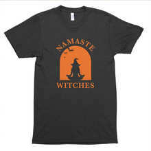 Namaste Witches Cute Halloween Shirt Funny Cute T-Shirt Grunge Aesthetic Tumblr Tees Vintage Tops
