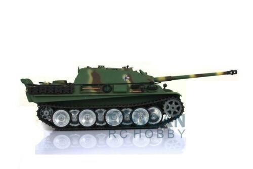 Henglong <font><b>1</b></font>/<font><b>16</b></font> Skala 6,0 Generation Infrarot Kampf Angepasst Cheetah RTR RC <font><b>Tank</b></font> 3869 Metall Tracks Räder TH12620 image