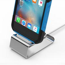Aluminum Alloy Charging Stand for Apple Mobile Phone iPhone AirPods Remote Control Bedside Charger Holder