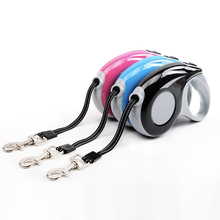 3M 5M Automatic Dog Leash for Walking Pet Traction Rope ABS Nylon Cat Small Medium Large Breed Dogs Extendable Leads