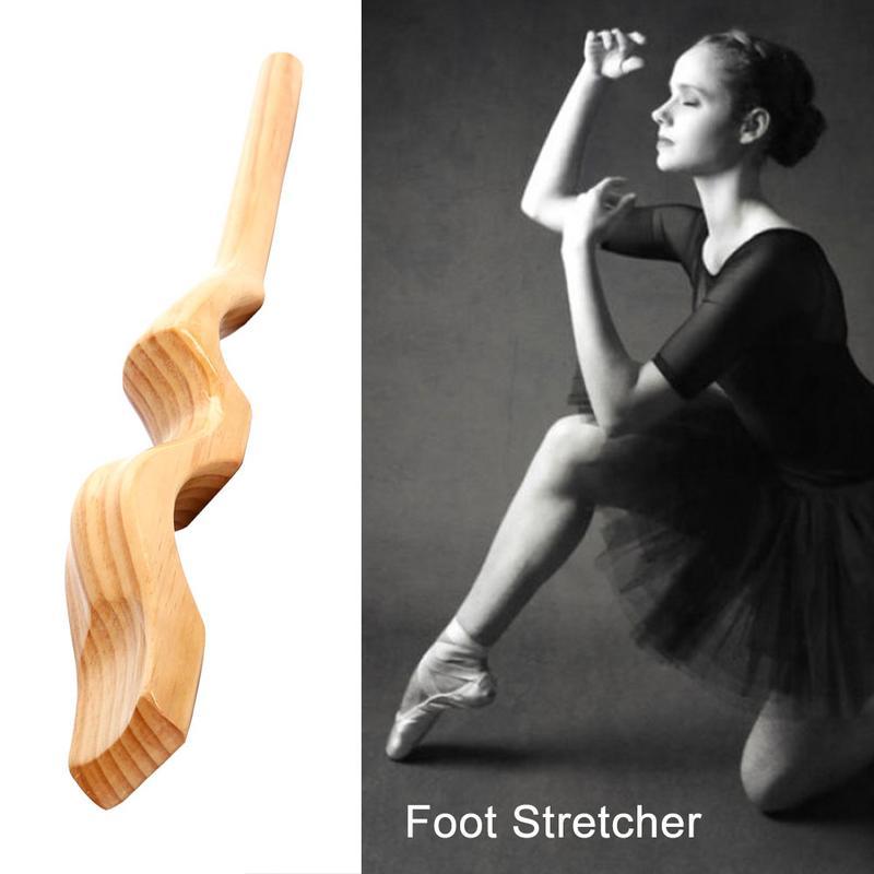En bois Pied Civière Danseur Dispositif Cou Ballet Fournitures Exercice Ballet Cou Façonner Outil Pied Civière - 6