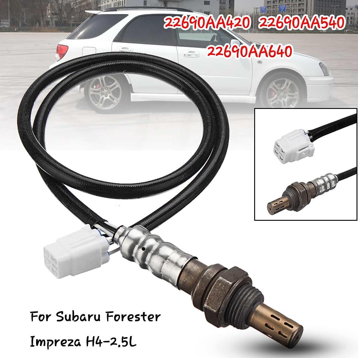 New Downstream Oxygen O2 Sensor 22690AA420 For Subaru Forester Impreza H4-2.5LNew Downstream Oxygen O2 Sensor 22690AA420 For Subaru Forester Impreza H4-2.5L