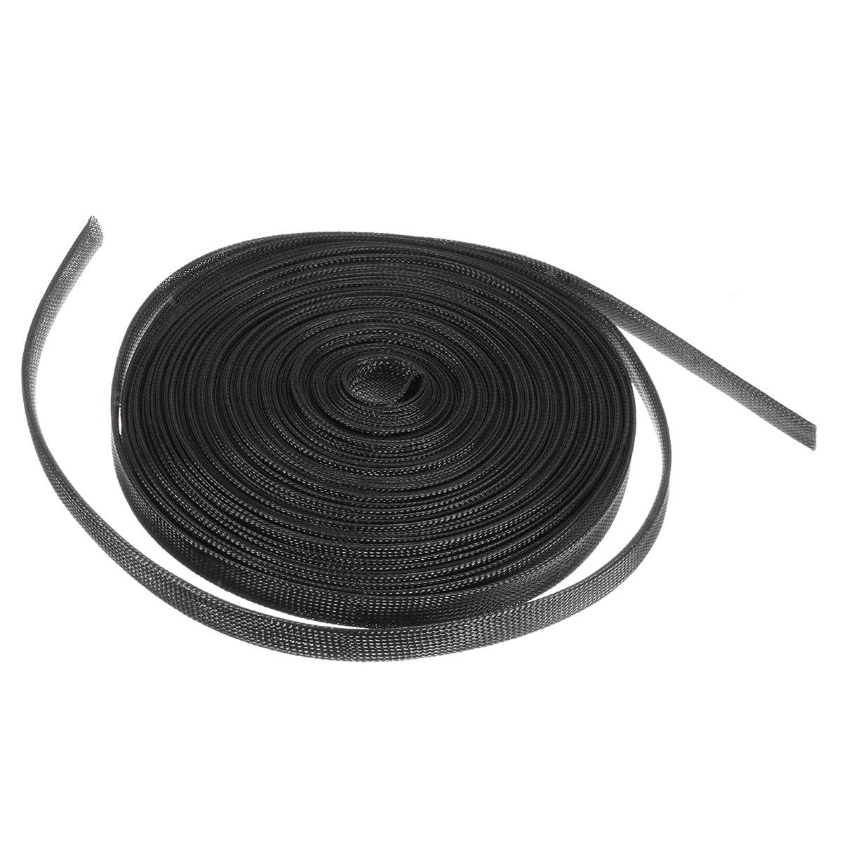 30m Black Nylon Expandable Sheathing Tubing Wire Cable Sleeving Insulation Tight Braided Loom 8/10/12/15/20mm For Wrapping Cable30m Black Nylon Expandable Sheathing Tubing Wire Cable Sleeving Insulation Tight Braided Loom 8/10/12/15/20mm For Wrapping Cable