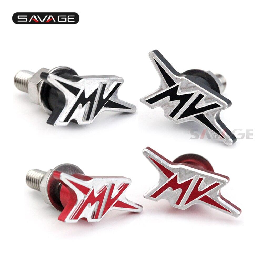 License-Plate-Screws Motorcycle-Accessories Fender Mv Brutale 1000 for Agusta Rear Eliminator