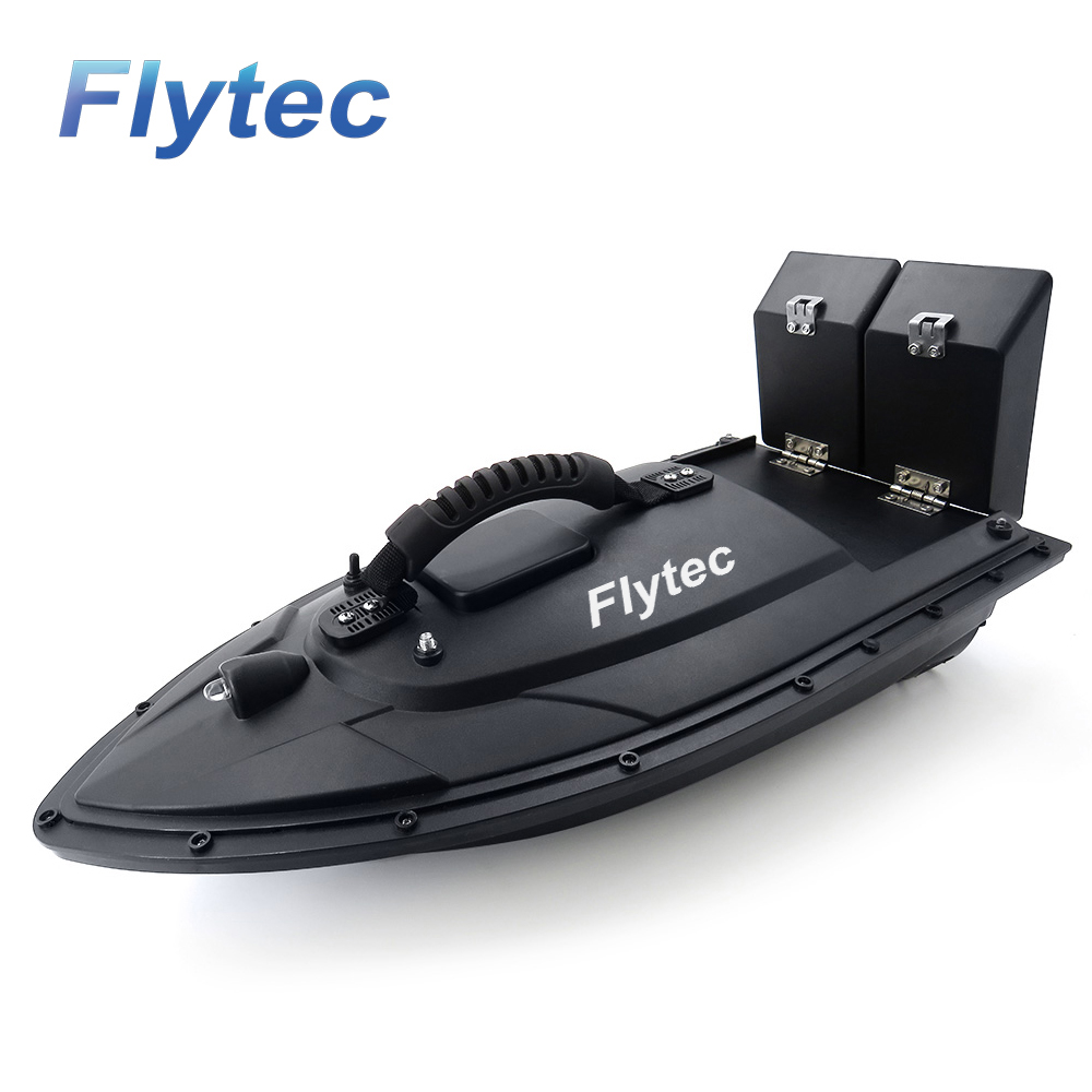 Flytec 2011 5 Fishing Tool Smart RC Bait Boat Toy Dual Motor Fish Finder Fish Boat Remote Control Fishing Boat Ship KIT Version