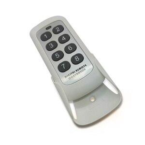Image 2 - 433.92Mhz Rf Module Schakelaar Controller Draadloze Afstandsbediening Zender 8 Kanalen Key Learning Code Schakelaar Voor Garagedeur