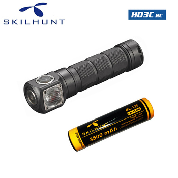Skilhunt H03C RC Red/Green/Blue/White Multi-colors LED CREE XM-L Color LED Headlamp with battery