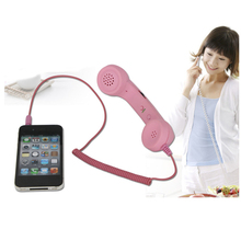 Vintage 3.5mm Telephone Handset Receiver for Iphone / Ipad /