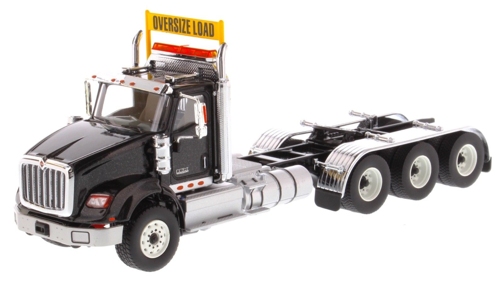 Diecast Masters 1/50 Scale International HX620 Tridem Tractor BLACK DM71009