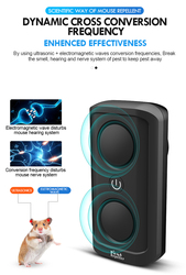 Ultrasonic Pest Repeller Plug In Electronic Repellent Rat Mouse Spider Insect Rodent Repellent Ultrasonic Dropship 2019