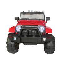 Супер большие дети четырехколесный привод Электрический автомобиль дистанционного управления игрушка амортизация электрический внедоро