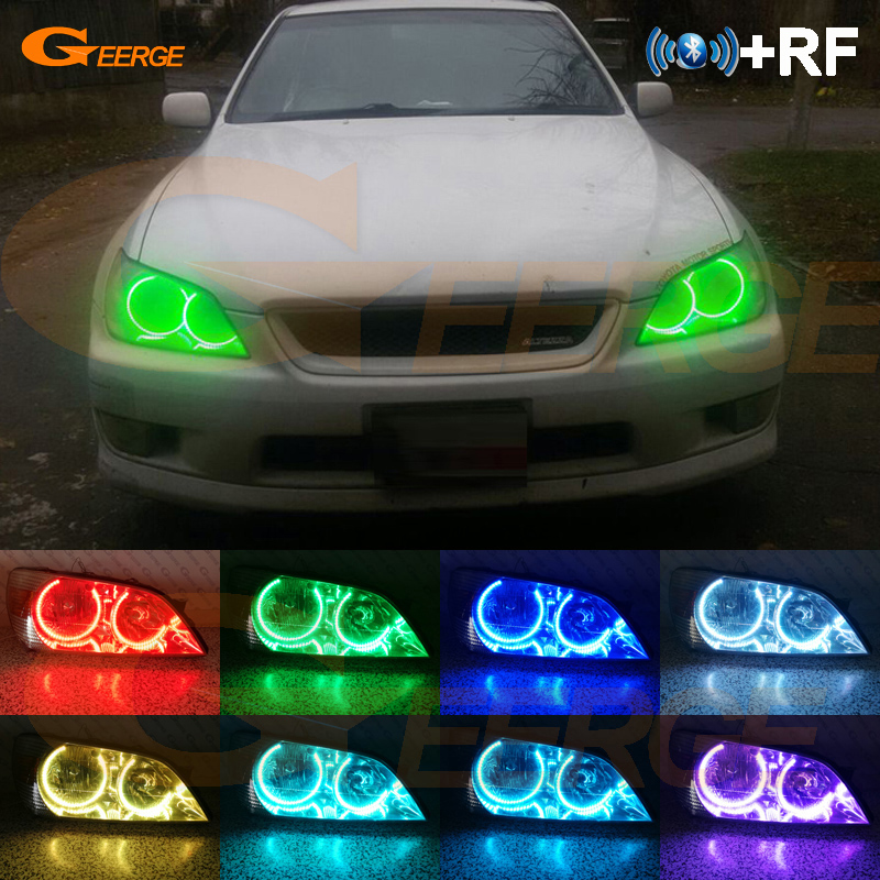 For Toyota Altezza SXE10 Gita Japan Excellent RF Bluetooth Controller Multi Color Ultra bright RGB LED