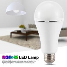 E27 11W Smart WIFI Remote Control Bulb RGB RGBW Dimmable LED Bulb Night Light Bulb Lamps Works with Alexa Google Home