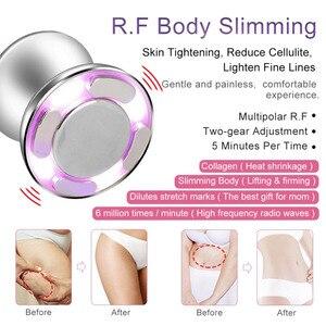 Image 5 - Kawitacja RF ultradźwiękowy masażer wyszczuplający domowy tłuszcz anty cellulit urządzenie napinanie skóry odchudzanie urządzenie kosmetyczne