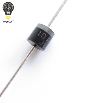 SUQ  10PCS 10.0 AMP 10A10 SILICON RECTIFIERS Rectifier Diode 10A 1000V R-6 bolt type zp300a 1000v spiral defence of the diode rectifier thyristor