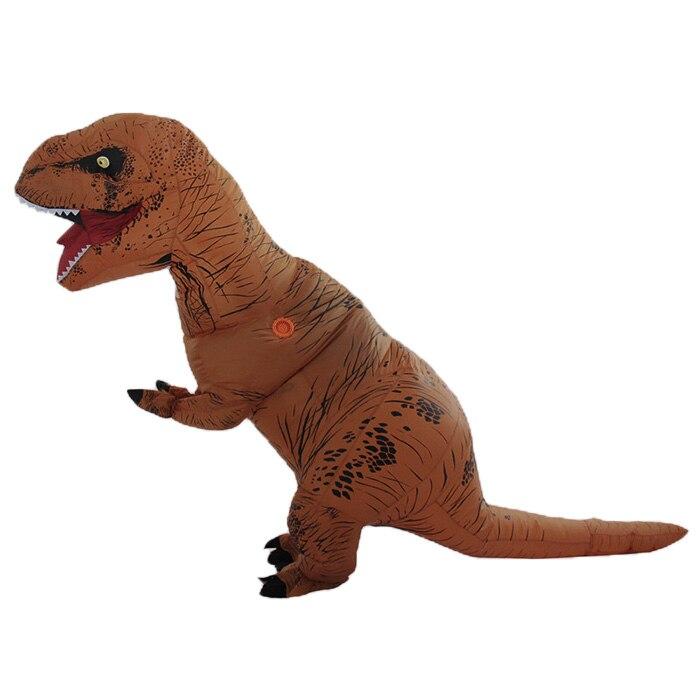 Nouveauté et de Bâillon Jouet Adulte Gonflable Dinosaure Fantaisie Bâillons et de Plaisanteries Pratiques Cosplay Robe Pour Noël, Halloween, drôle Parties - 2