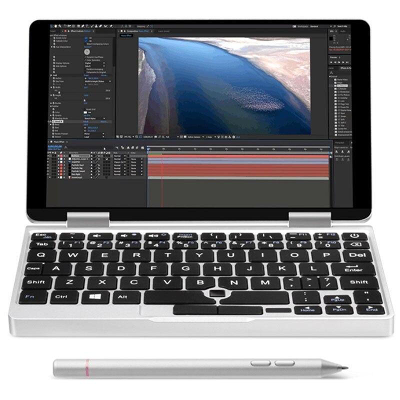Un Netbook di Un Mix 2 s Notebook 7 pollice Finestre 10.1 Intel Core M3-8100Y 3.4 ghz 8 gb 256 gb PCIE SSD Dual WiFi Tipo-C Micro HDMI