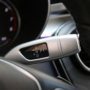 Image 3 - Capas para for mercedes benz glc e cla gla classe w205 w213 3 pçs/set cromado limpador de alavanca de câmbio de lantejoulas de cruzeiro adesivo da guarnição do quadro