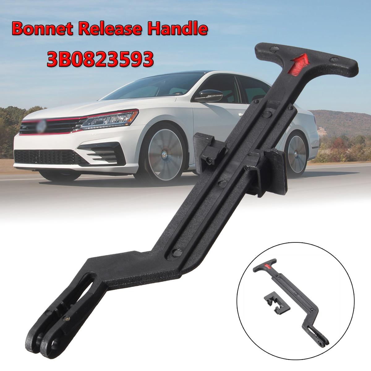 1pc 3B0823593 Bonnet Hood Release Rod Lock Latch Handle for VW Passat B5 B5.5 1998 1999 2000 2001 2002 2003 2004