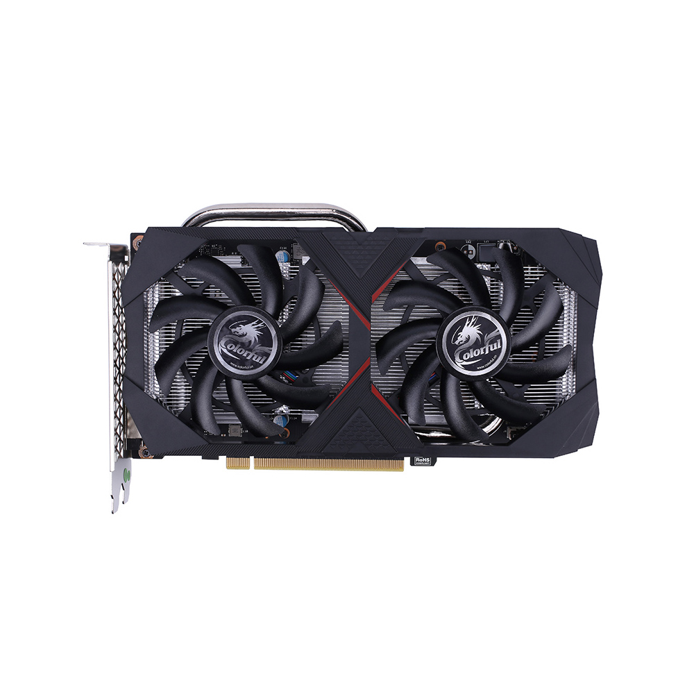 Colorful GeForce GTX 1660 6G Graphic Card GDDR5 192bit 8Pin DP HD DVI Graphic Card For