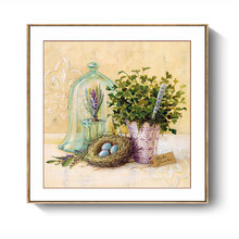 Wall Art for Bedroom Flowers Nordic Simple WatercolorPaintings Decoration Restaurant Home Vase Floral Canvas Prints Artwork(China)