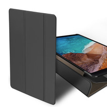 For Xiaomi Mi Pad 4 Plus 10 Case PU Leather Slim Folding Stand Flip Cover For MIPAD 4Plus 10 Inch Case Smart Sleep Tablet Shell цена и фото