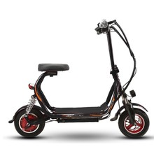 New 48V 8.8A 12A Harley electric scooter two-seat mini parent-child bicycle