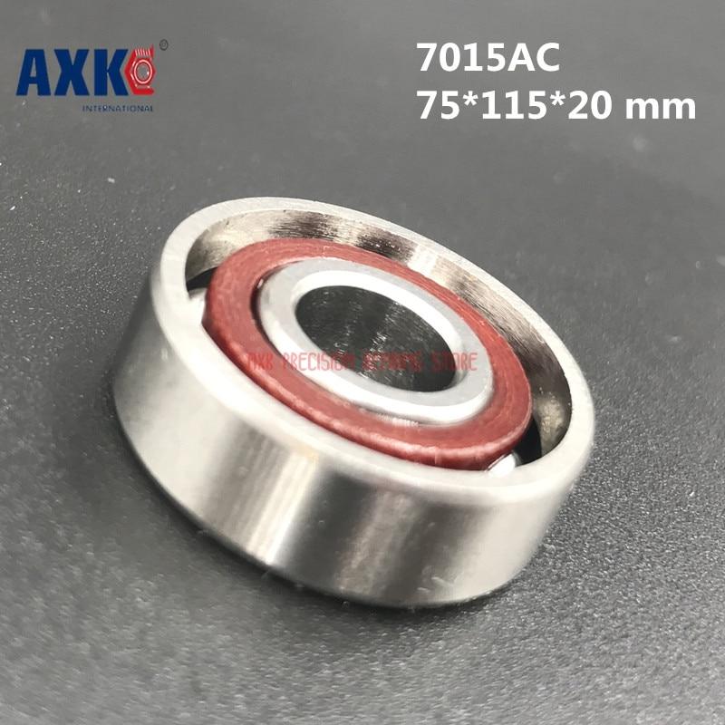 2019 haute qualité 1 pièces 7015 7015c B7015c T P4 Ul 75*115*20 Mm roulements de broche de vitesse à Contact oblique CNC Boutique Rodamientos