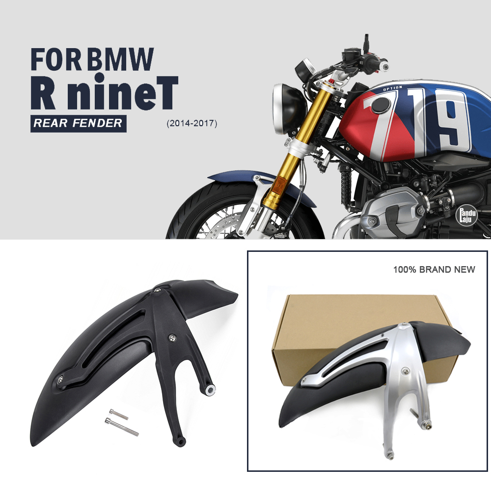For BMW R NINE T Motorcycle rear Fender Mudguard For BMW R ninet 2014 2015 2016