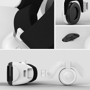 Image 3 - Gafas VR 3D de realidad Virtual con control remoto, miniauriculares VR, casco, gafas, estéreo Hifi, auriculares, consola de juegos con micrófono # Y2