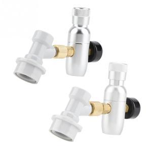 Image 2 - Алюминиевые регуляторы CO2 для домашнего пивоварения, комплект зарядного устройства, мини регулятор CO2 для отключения газа и пива, аксессуары для домашнего пивоварения